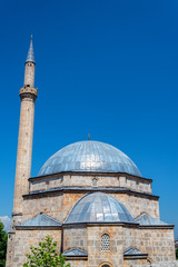Sinan Pasha Mosque and Blue Sky