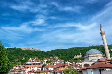 Prizren, Kosovo view with Fortress