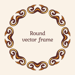 Elegant luxury frame.