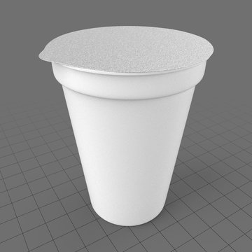 Medium yogurt packaging 1
