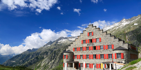 Alpine Hotel in Switzerland