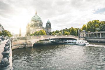 Dome and Museum Island Bridge - Berlin