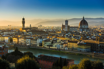 View over Florence, Tuscany