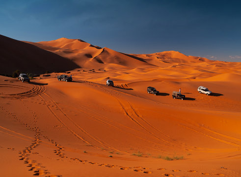 Desert Extreme Drive Expedition, Morocco, Africa.