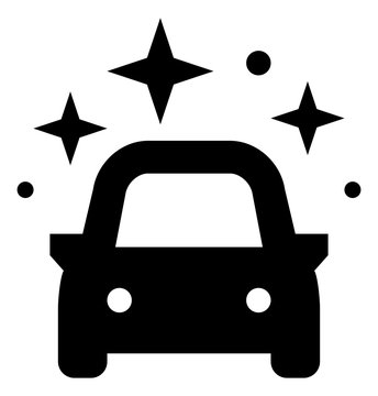 Brand New Shiny Car Icon