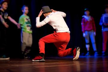 dancer on a dance battle