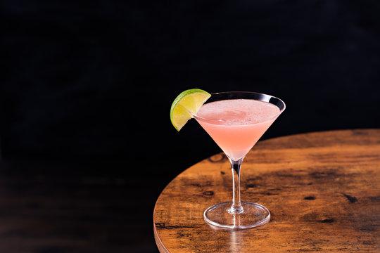 Refreshing Vodka Cosmopolitan Martini Cocktail
