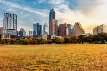 Garden Poster Honey Austin Texas Fall Sunrise