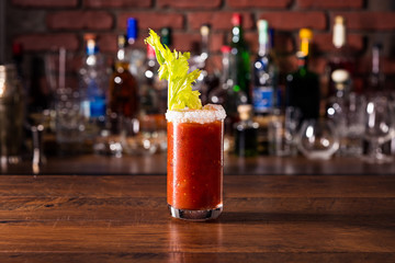 Refreshing Spicy Vodka Bloody Mary