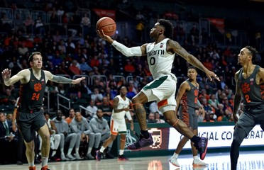 NCAA Basketball: Clemson at Miami-Florida