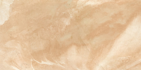 Detailed structure of abstract marble Creamy and ivory ink acrylic painted waves texture. Pattern used for background, interiors, skin tile luxurious design, wallpaper or cover case mobile phone.