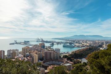 View Malaga Port