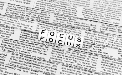 In the focus