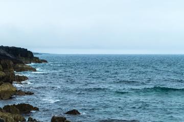 Atlantic at Burren Coast Küste