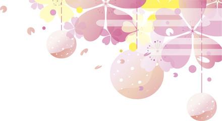 桜祭り背景イラスト