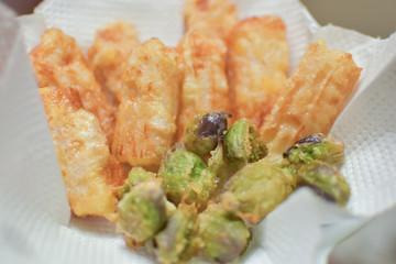 蕗の薹天ぷら