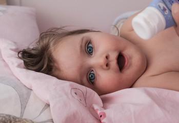 Adorable baby girl.