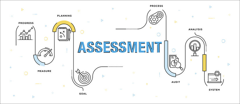 ASSESSMENT INFOGRAPHIC CONCEPT