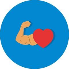 Vector Healthy Heart Icon