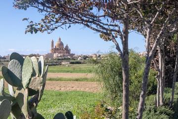 Cathedral in Gozo, Malta