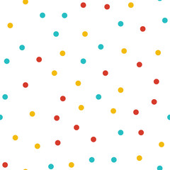Random dots pattern, abstract shapes background. Geometrical simple illustration