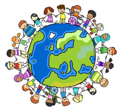 Kulturelle Vielfalt mit Integration und Inklusion