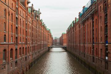 Brooksfleet canal, Hamburg