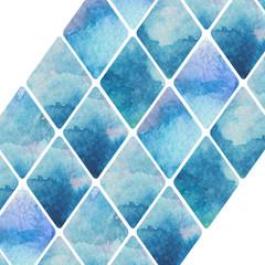 abstract diagonal rhombus pattern