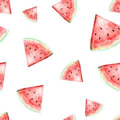watercolor watermelon illustration