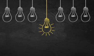 Chalkboard Light Bulbs