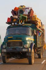 Fernbus in Madagaskar