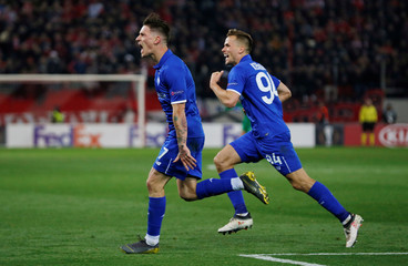 Europa League - Round of 32 First Leg - Olympiacos v Dynamo Kiev