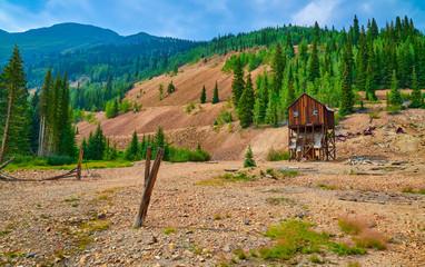 Abandoned Colorado Mine Structure
