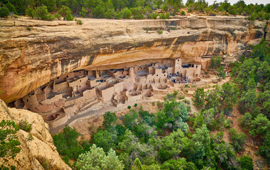 Tour of Cliff Palace at Mesa Verde National Park