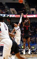 NCAA Basketball: Houston at Connecticut