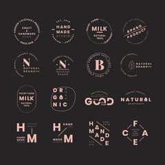 Brand logo sets