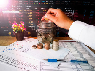 Financial growth and investment profits with the concept of investor planning