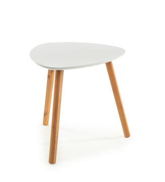 Modern stool on white background