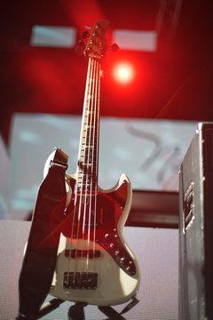 guitar at a concert