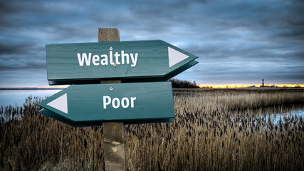 Sign 382 - Wealthy