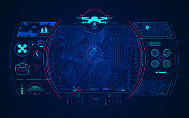 drone control Wall mural