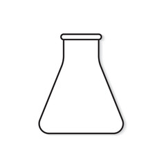 test tube icon- vector illustration