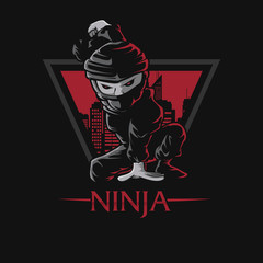 Ninja dark town triangle