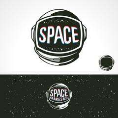 Space Helmet astronauts