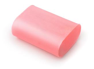 Unused pink soap bar
