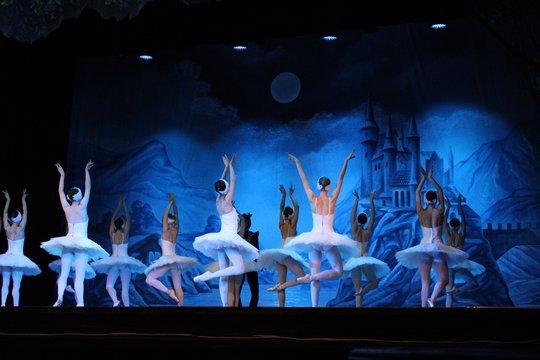 many ballerinas russia