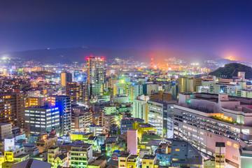 Fotomurales - Shizuoka, Japan downtown cityscape