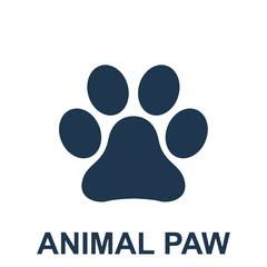 Animal Paw Vector Icon Eps10