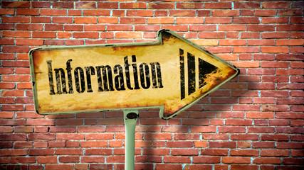 Sign 380 - Information