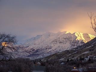 Mount Timpanogos Sunrise